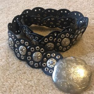 Accessories - Moroccan Leather Conch Belt